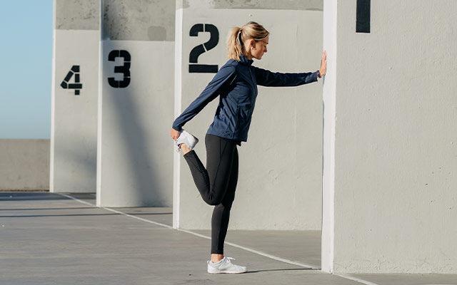 Women Outdoor fitness